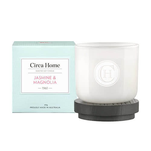 Circa Home Jasmine & Magnolia Miniature Candle 60g by Circa Home Candles & Diffusers
