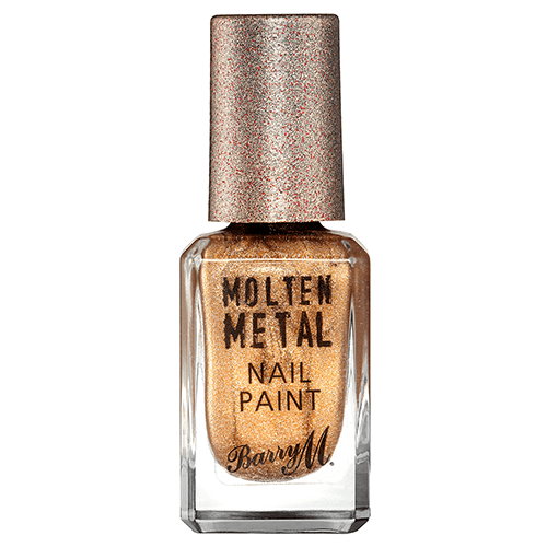 Barry M Molten Metal Nail Paint - 1 Bronze Bae