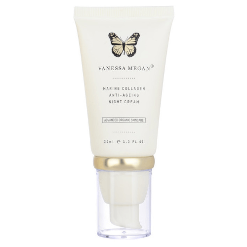 Vanessa Megan Marine Collagen Anti-Ageing Night Cream 30ml by Vanessa Megan