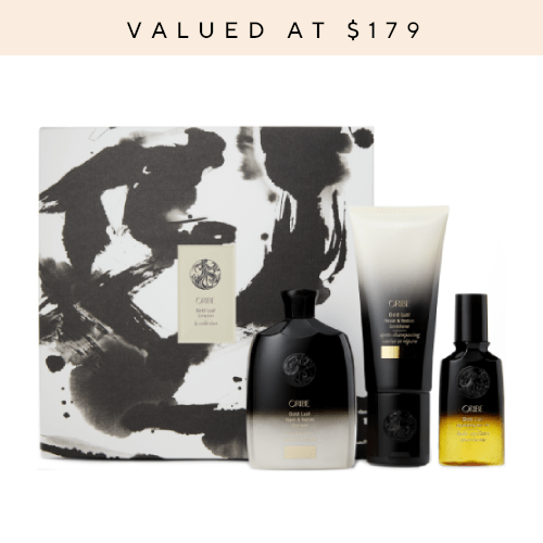 Oribe Gold Lust Collection Box by Oribe