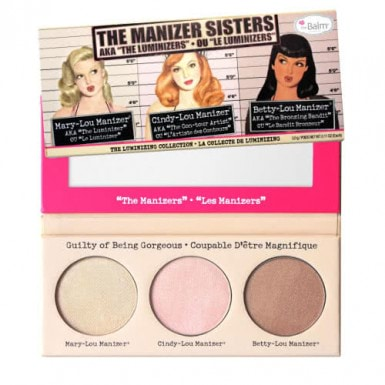 theBalm Manizer Sisters Trio by theBalm