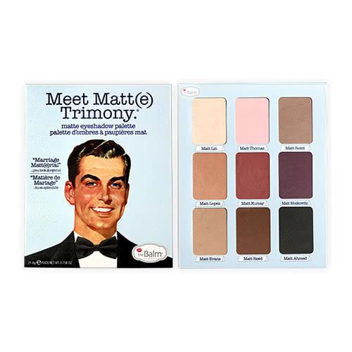theBalm Meet Matt(e) Trimony