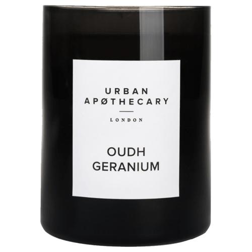 Urban Apothecary Oudh Geranium Candle 300g by Urban Apothecary London