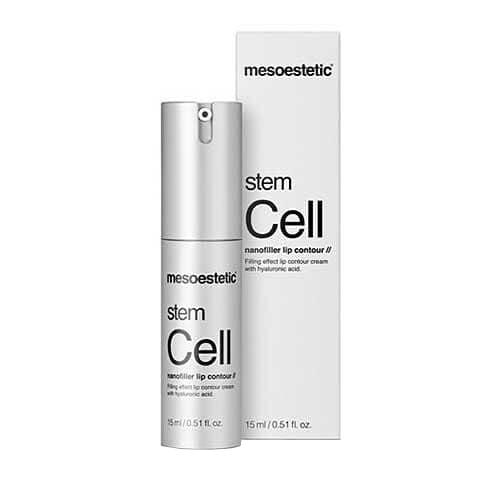 mesoestetic stem cell nanofiller lip contour