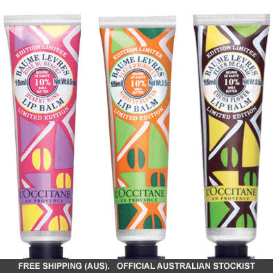 L'Occitane Limited Edition 10% Shea Butter Lip Balm by loccitane