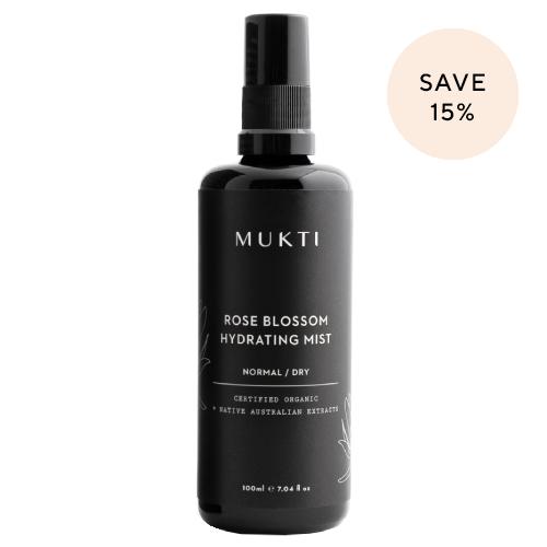Mukti Organics Rose Blossom Hydrating Mist 100ml by Mukti Organics