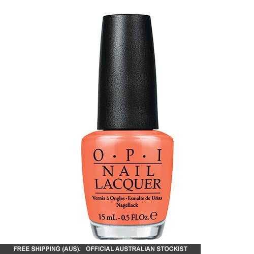 OPI Brazil Collection Where Did Suzi's Man-Go? 15ml