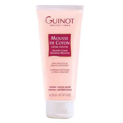 Guinot Creamy Foam Shower Mousse: Mousse de Coton