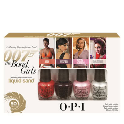 OPI The Bond Girls Mini Nail Polish Collection