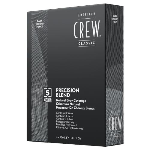 American Crew Precision Blend Dark (2-3) 3x40mL
