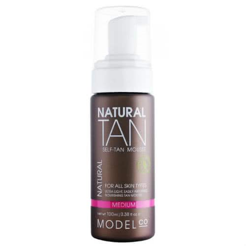 ModelCo Natural Tan Mousse - Medium by ModelCo