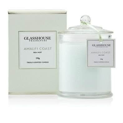 Glasshouse Amalfi Coast Candle - Sea Mist 350g by Glasshouse Fragrances