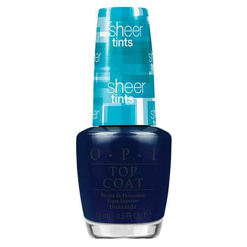 OPI Sheer Tints Nail Polish Collection I Can Teal You Like Me  by OPI color I Can Teal You Like Me