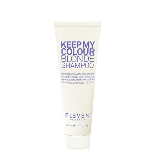 ELEVEN Keep My Colour Blonde Shampoo Travel Size by ELEVEN Australia