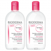 Bioderma Sensibio H20 Twin Pack 500ml