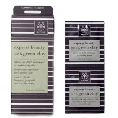 APIVITA Express Beauty with Green Clay Mask