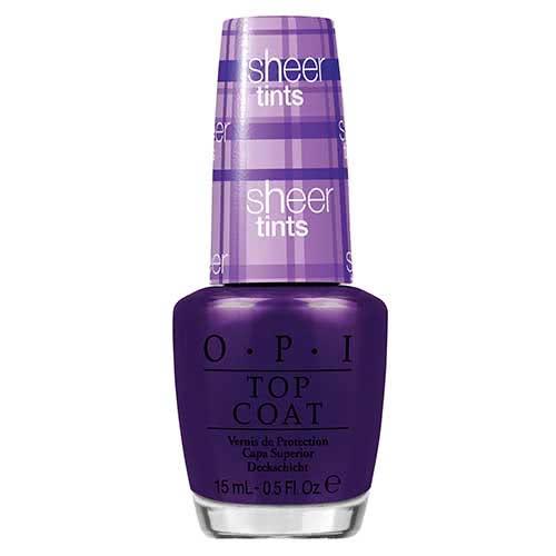 OPI Sheer Tints Nail Polish Collection Don't Violet Me Down  by OPI color Don't Violet Me Down