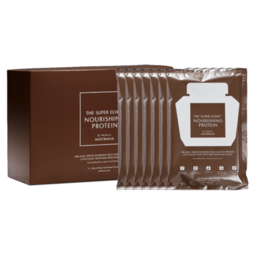 WelleCo NOURISHING PLANT PROTEIN 7 Day Travel Set - Chocolate by WelleCo