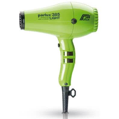 Parlux Power Light 385 Ionic & Ceramic Hairdryer - Green