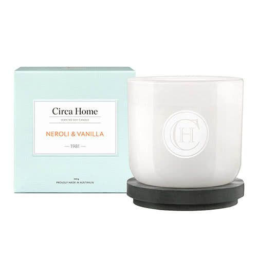 Circa Home Neroli & Vanilla Classic Candle 260g by Circa Home Candles & Diffusers