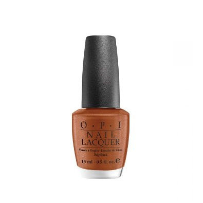 OPI Nail Lacquer - South Beach Collection, Bronzed to Perfection by OPI color Bronzed to Perfection - shimmer bronze