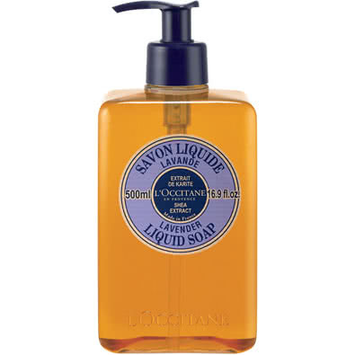 L'Occitane Lavender Liquid Soap with Shea - 500Ml