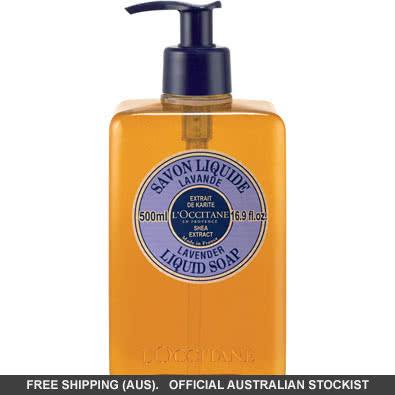 L'Occitane Lavender Liquid Soap with Shea - 500Ml by loccitane