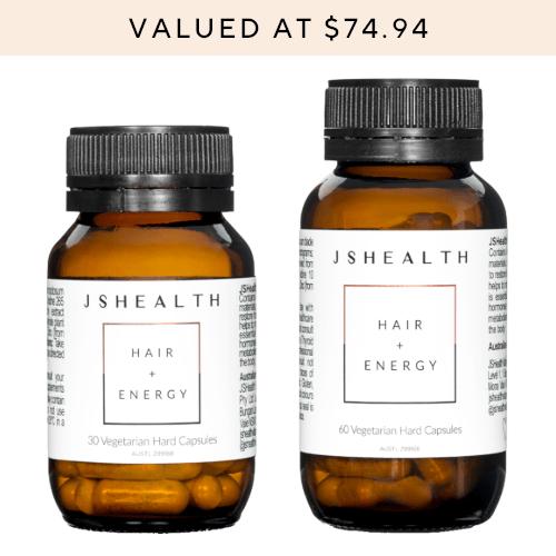 JSHealth 3 Month Hair + Energy