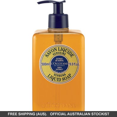 L'Occitane Shea & Verbena Liquid Soap - 500Ml