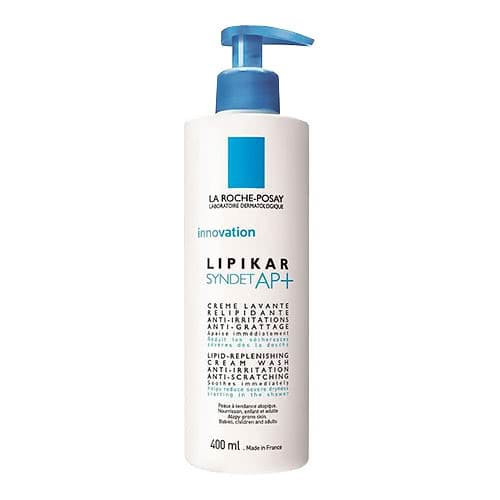 La Roche-Posay Lipikar Syndet Cleansing Cream-Gel 400ml by La Roche-Posay