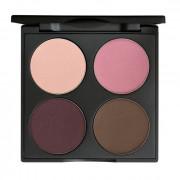 Gorgeous Cosmetics 4 Pan Palette - Smokey Eyes Romance