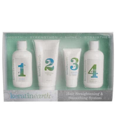 Keratin Earth 30 Day Smoothing & Straightening System