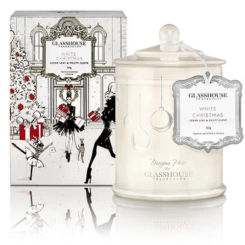 Glasshouse White Christmas Candle - Limited Edition by Glasshouse Fragrances