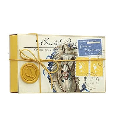 MOR Quince Persimmon Triple Milled Soap - Correspondence Collection