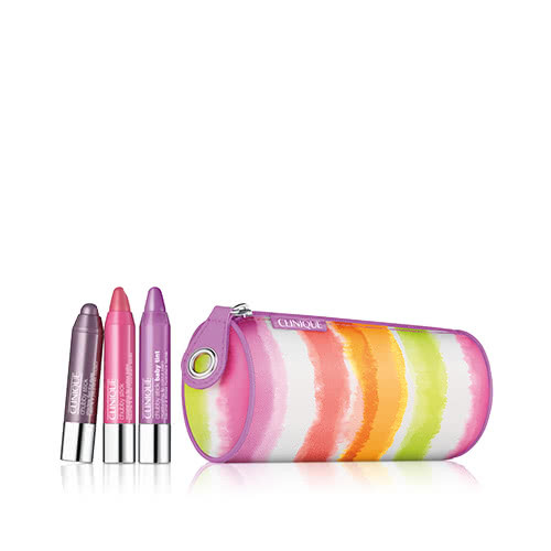 Clinique Chubby Mini Set - Pops of Pink & Purple by Clinique