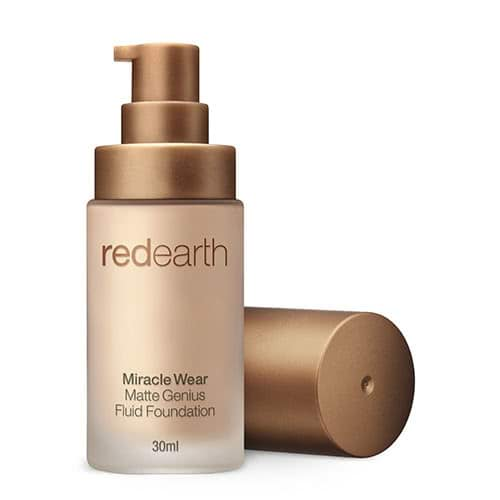 Red Earth Miracle Wear Matte Genius Foundation by Red Earth