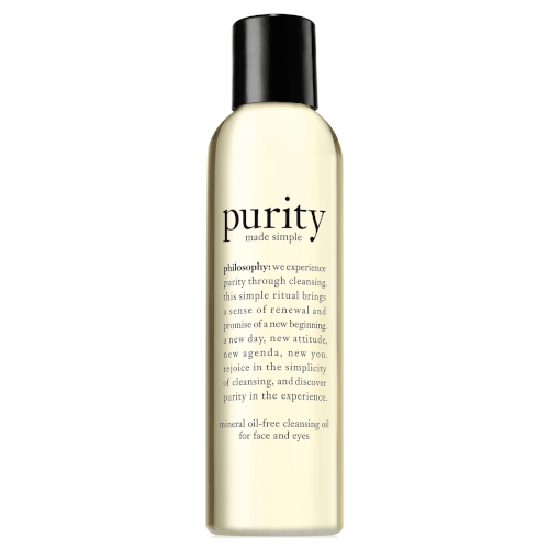 philosophy purity made simple cleansing oil for face and eyes by philosophy