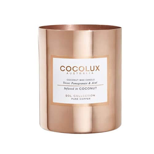 Cocolux Candle – Sweet Pomegranate & Acai 350g by Cocolux Australia