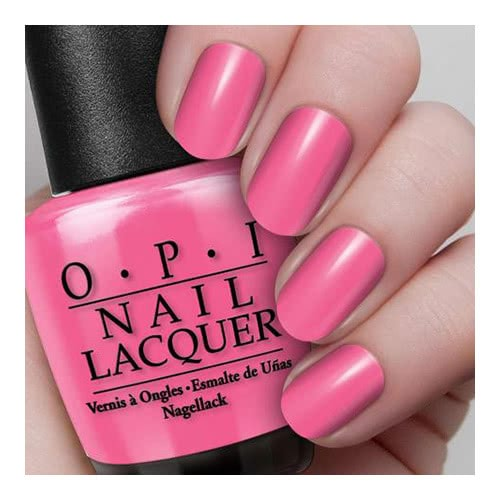 Opi Nail Lacquer Mexico Collection Strawberry Margarita Free Post