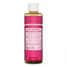 Dr. Bronner Castile Liquid Soap - Rose 237ml