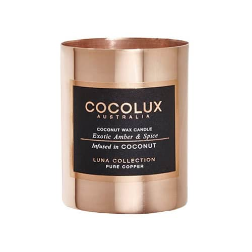 Cocolux Candle Exotic Amber & Spice 150g by Cocolux Australia