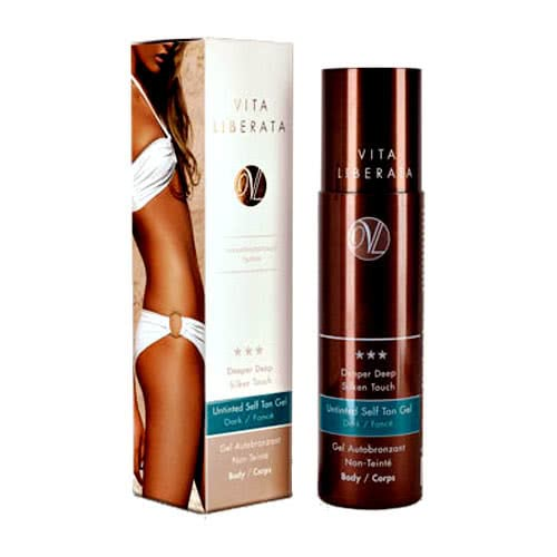 Vita Liberata Deeper Deep Untinted Self Tanning Gel - Dark