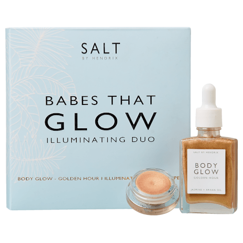 SALT BY HENDRIX Babes That Glow Gift Set  by SALT BY HENDRIX