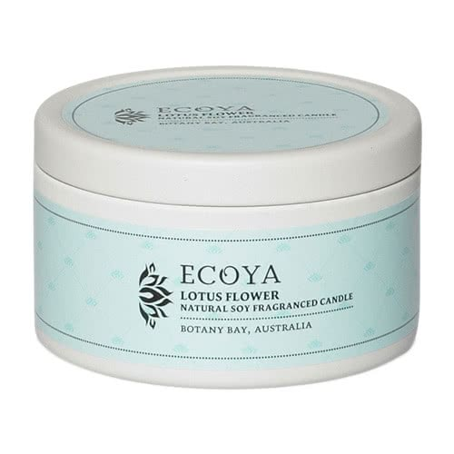 Ecoya Everyday Tin Candle - Lotus Flower by Ecoya