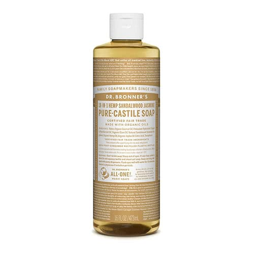 Dr. Bronner Castile Liquid Soap - Sandalwood Jasmine 473ml