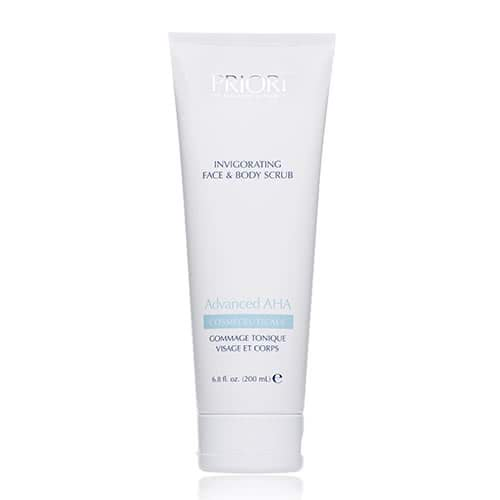 PRIORI Advanced AHA Invigorating Face & Body Scrub by PRIORI