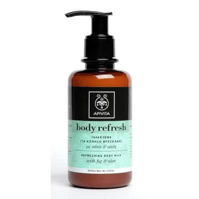 APIVITA Body Refresh Refreshing Body Milk with Fig & Aloe