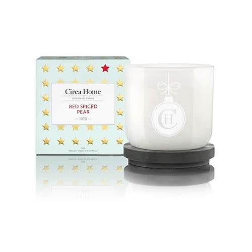 Circa Home Red Spiced Pear Classic Candle 260g by Circa Home