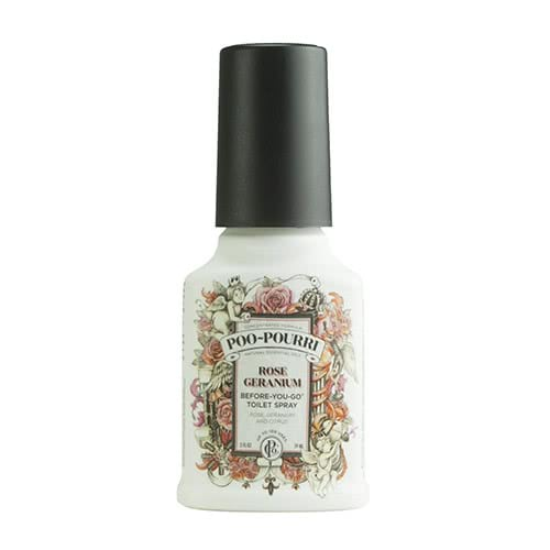 Poo Pourri Rose Geranium Toilet Spray  by Poo Pourri