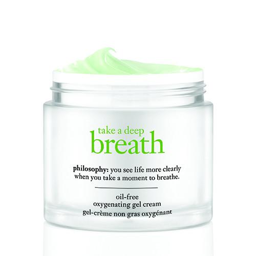 philosophy take a deep breath oxygenating gel cream